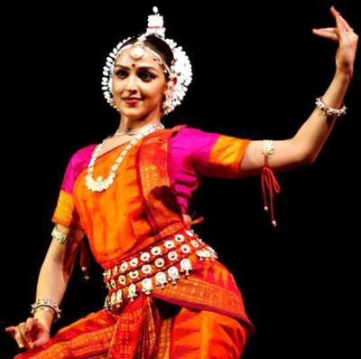 Miss indian with her sari